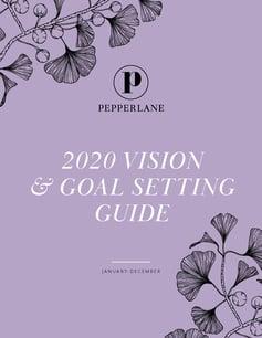 Pepperlane 2020 Vision & Goal Setting Guide